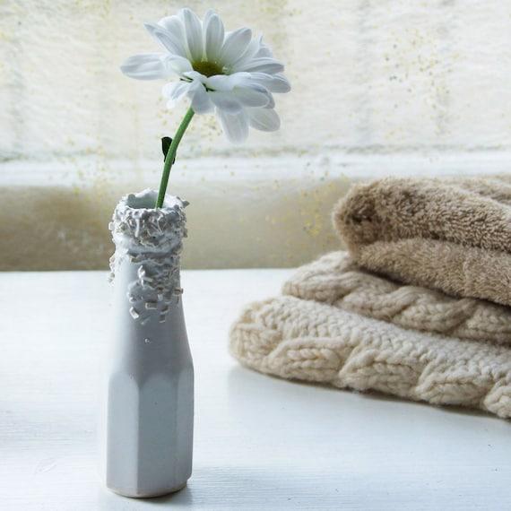 Mini Vase Ketchup Bottle Ceramic Vase From The Truffle Range Etsy