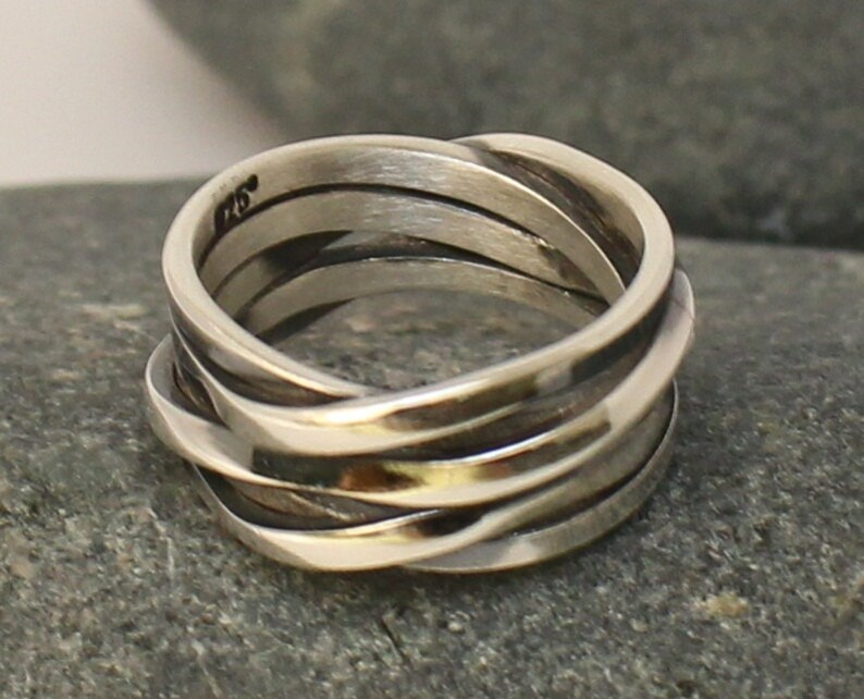 Gift.. Anniversary Gift. Sterling Silver Ring..Gift for Her. Daughter Gift..Silver Handmade Ring. You will love it.