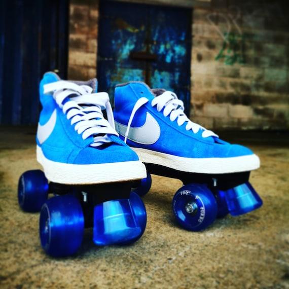 Custom NIKE Blazer Roller Skates