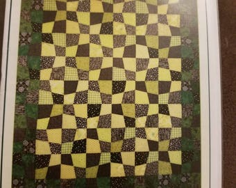 Saginaw St. Quilt Company, Fresh Cut, P401, Quilt Pattern, Blocks, Quilting, Fabric Quilt