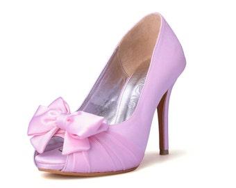 9b8f9f1b4d9f Custom Made Wedding Shoe in White Cord Lace, White Lace Wedding Shoes,  White Bridal Shoes, Bespoke Wedding Shoes, Custom Made Wedding Heels