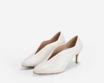 Wedding Booties, Bridal Booties, Winder Wedding Shoes, Wedding Heels, Lace Wedding Booties, Bridal shoes