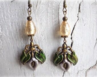 Calla - Earrings Vintage Style