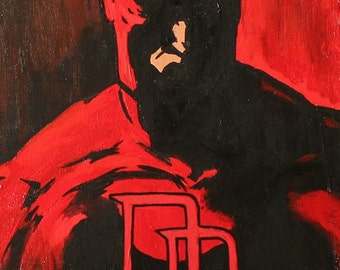 Daredevil Poster of Original Painting 11x17
