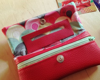 Red Tobacco pouch