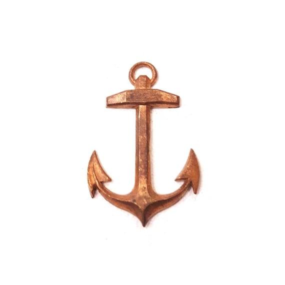 nickel free 1 pendant cross Orthodox chiseled natural raw brass 56 mm