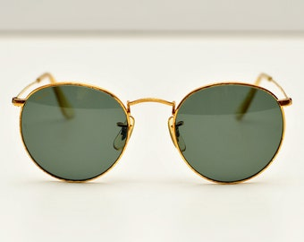 952e86ea2962 Vintage Ray Ban B L W0603 round rayban john lennon sunglasses RB 3447 ray  ban bausch and lomb