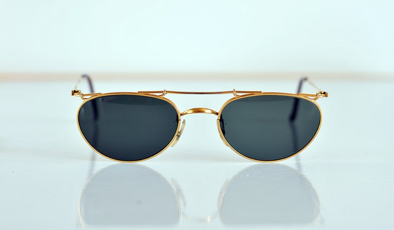 17ac65f277 Vintage RAY BAN B L Deco Metals Sunglasses extremely rare USA