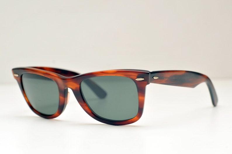 44c104b1a4a15 USA Ray Ban B L Wayfarer 55 22 USA Sunglasses bausch and lomb