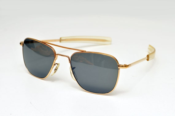 rare 23K Gold American Optical AO Command Sunglass