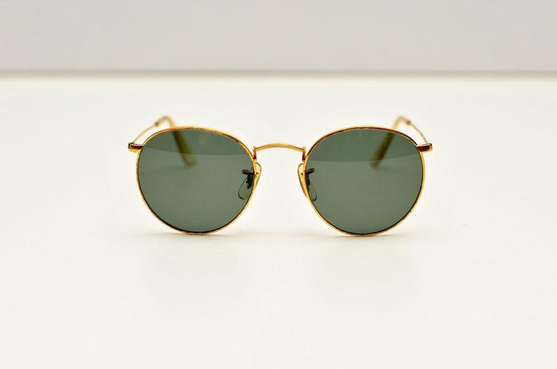e19ae2ab8e Vintage Ray Ban B L W0603 round rayban john lennon sunglasses