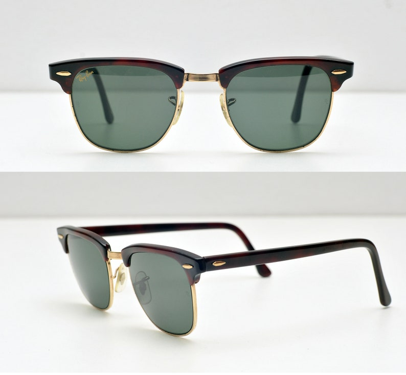 ba85e35ea57 USA Ray Ban B L Clubmaster W0365 49mm USA Sunglasses bausch and lomb  classic size