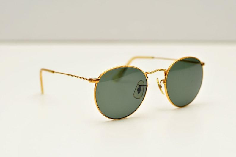 742d508678235 Vintage Ray Ban B L W0603 round rayban john lennon sunglasses