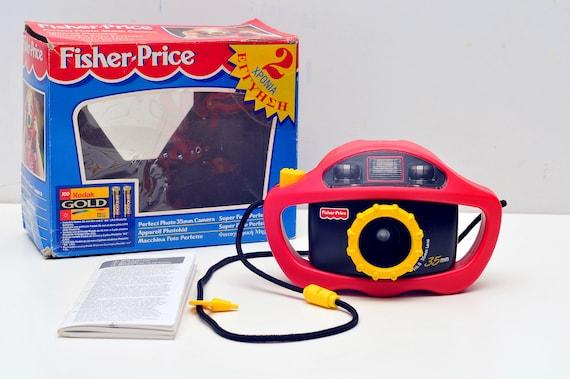 Fisher Price 35mm camera works 1995 kids camera