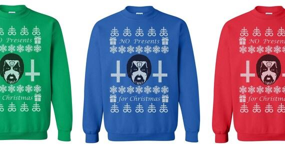 King Diamond No Presents Christmas Sweater Crewneck Etsy