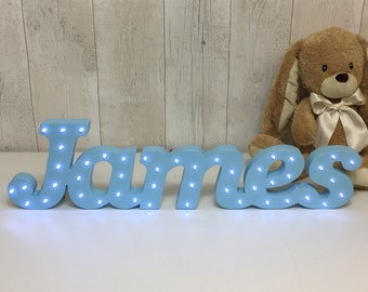 1st Birthday Gift Boy Light Up Sign Baby Idea One Of A Kind Boys Party
