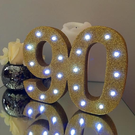 90 Geburtstag 90 Jahre Party Deko Geburtstagsfeier Etsy