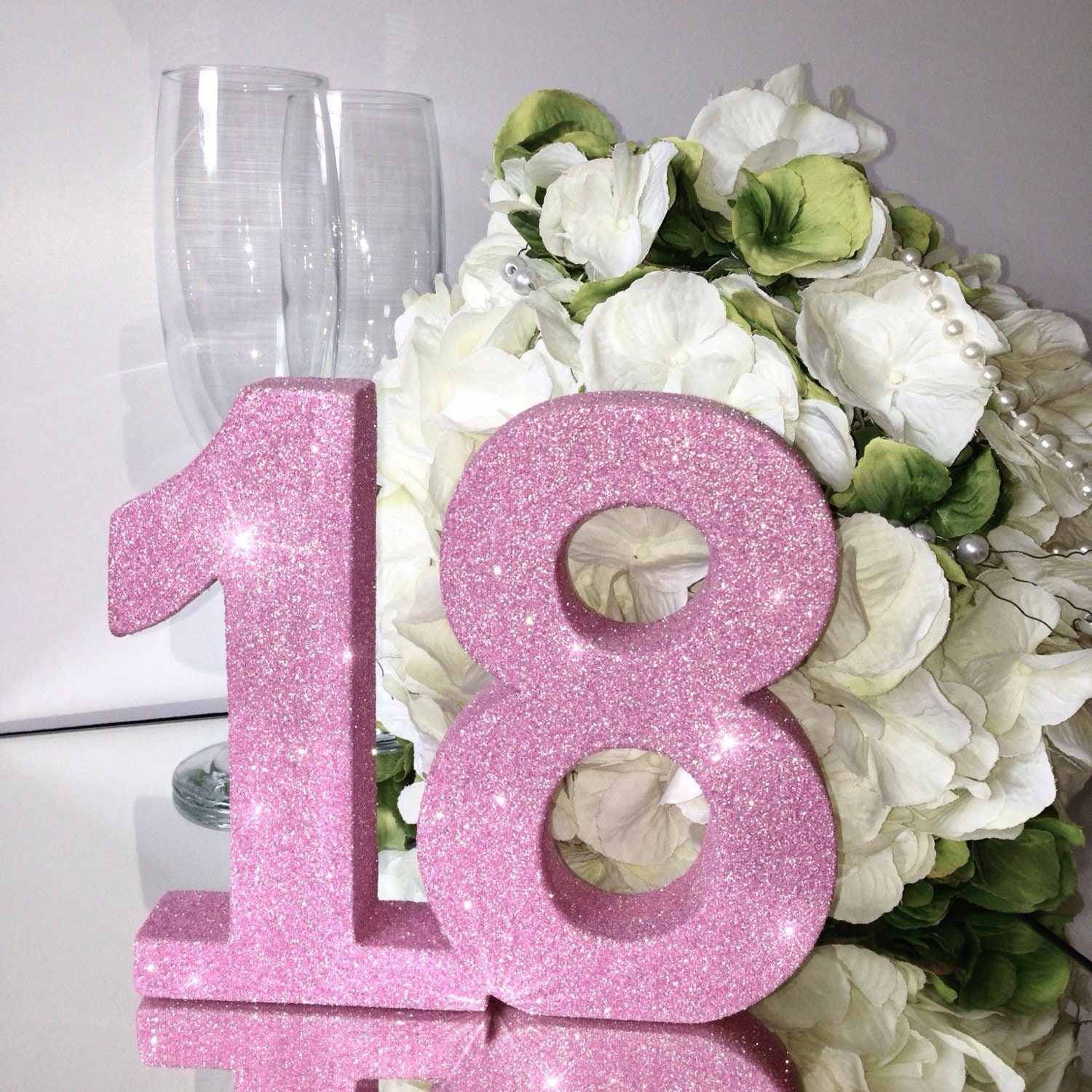 18th Birthday Table Number Party Decoration