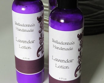 Handmade Lavender Body Lotion