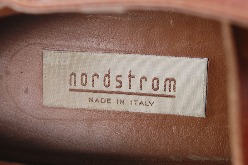 43d56179080e8 Vintage Nordstrom Studded Oxfords Made in Italy Size 9.5-10 US