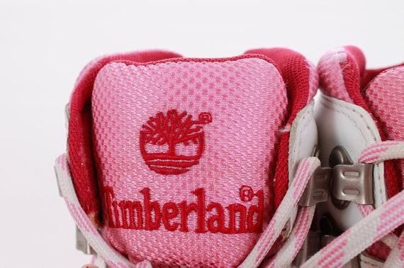blanc cuir et en rose bottes Timberland Vintage q7vH1Iw
