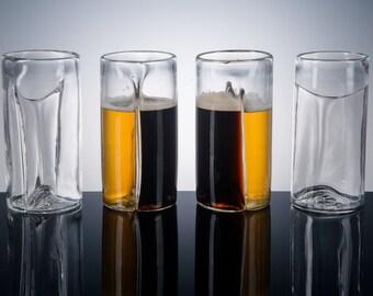 Dual Beer Glass, Set of 4