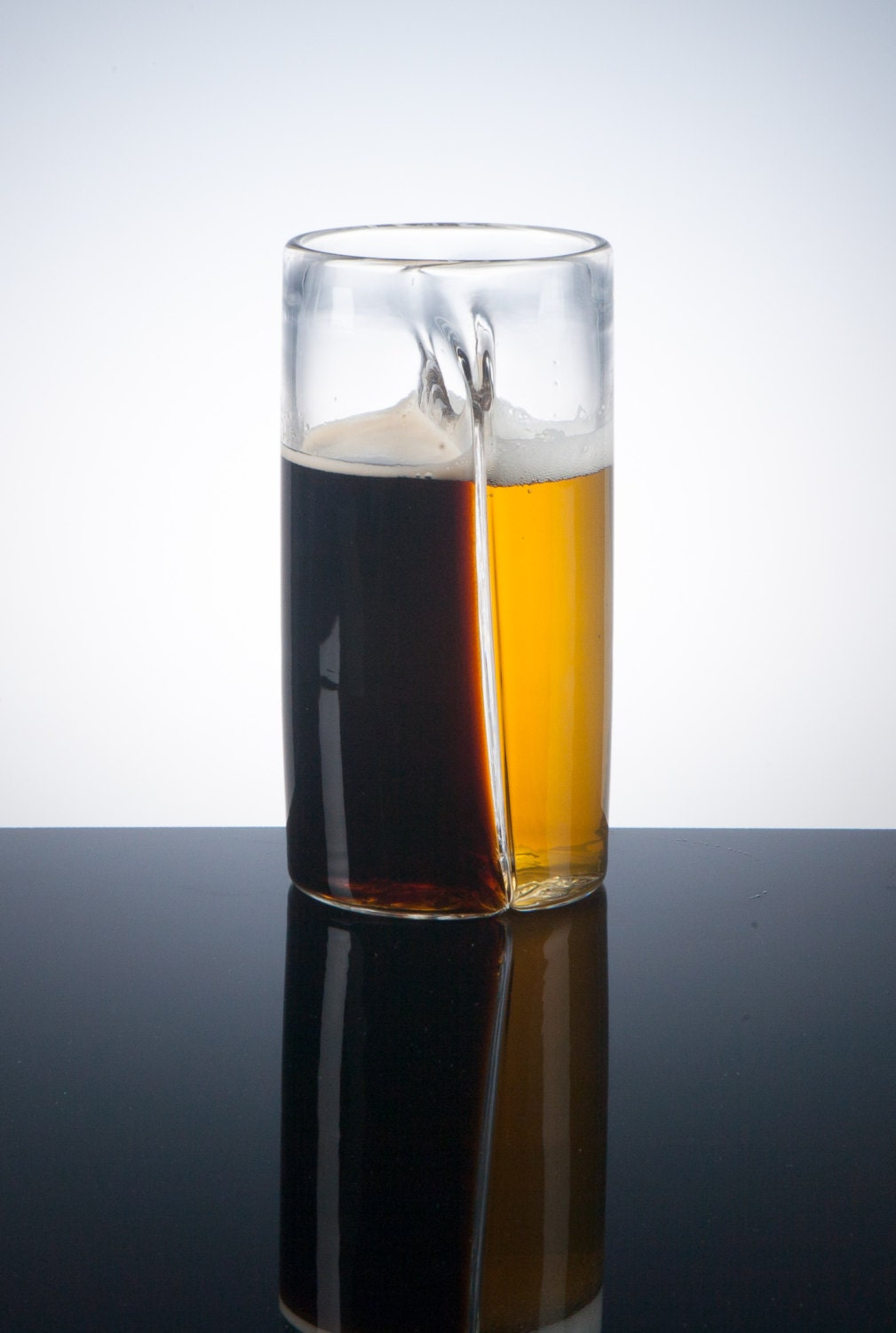 Dual Beer Glass, Craft Beer, Glassware