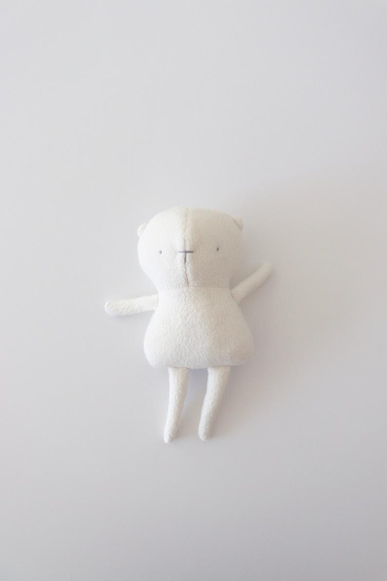 Gender neutral baby gift Baby polar teddy  Plush Toy  image 0