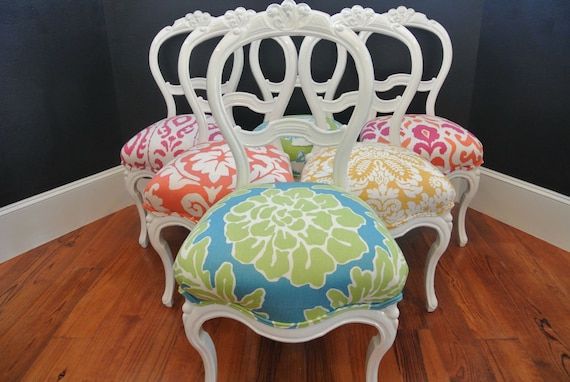 Eclectic Victorian Dining Chairs