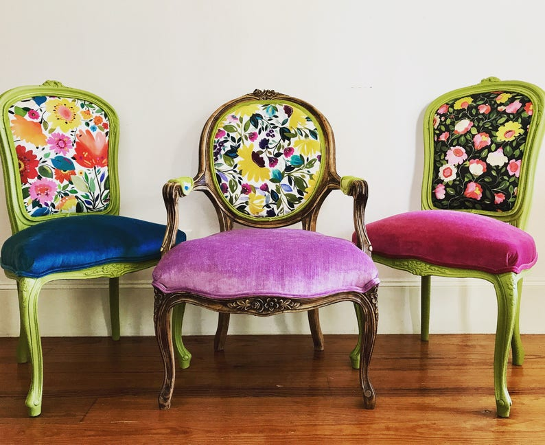 Genial Eclectic Boho Dining Chairs