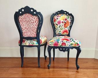 Customizable Victorian Chairs