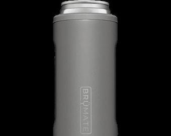 BruMate Hopsulator Slim Matte Gray Drink Holder