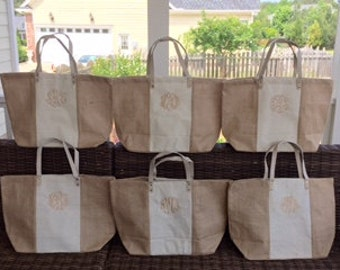 Monogrammed Bag-Bridesmaids