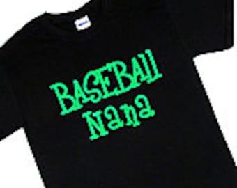 Baseball Nana T-Shirt