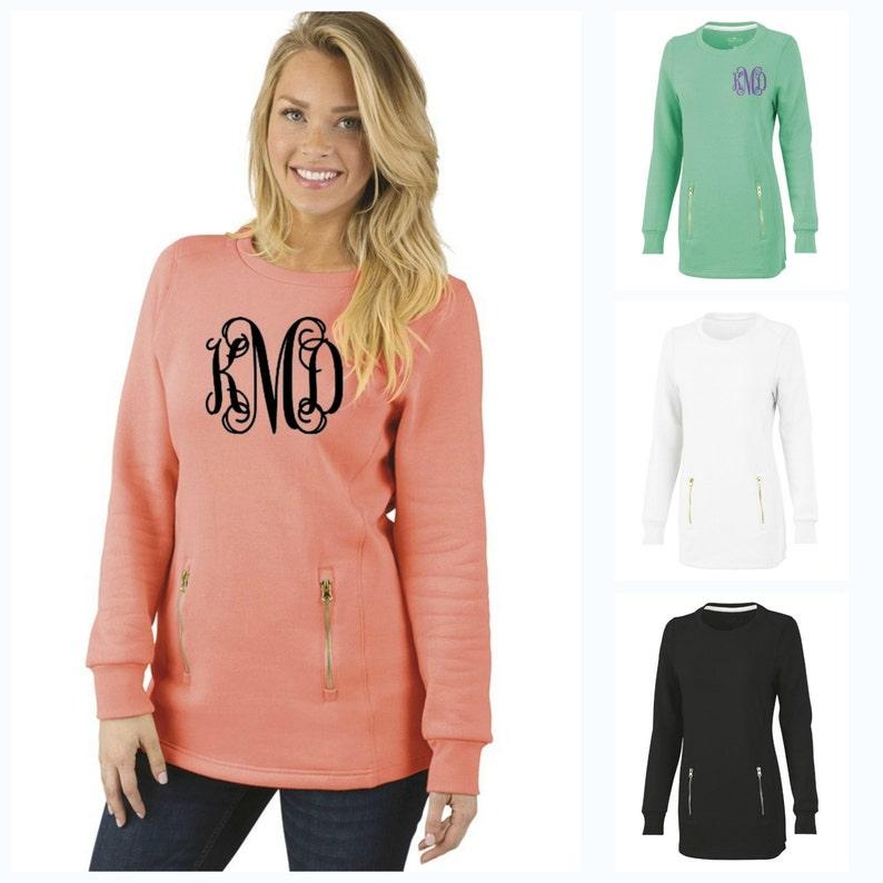 North Hampton Sweatshirt Monogrammed