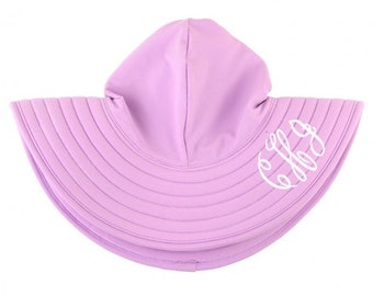 Girls Swim Hat In Lilac