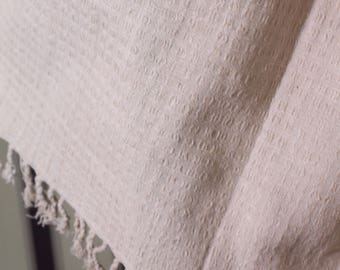 The 'Sobani' Handwoven Shawl in Ethical 'Eri' Silk