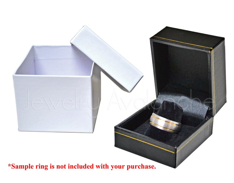 Black and Rose Gold IP Tungsten Carbide Ring TN781BS Personalized Tungsten Wedding Band Infinity Symbol with Names /& Birthstones