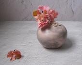 pink and purple haze Kasumi vase by echo of nature, Yumiko Goto