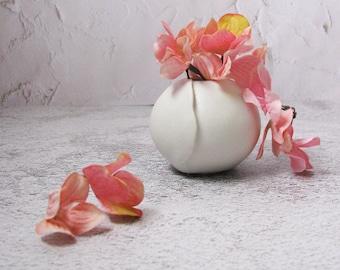 small ceramic vase by echo of nature, yumiko goto