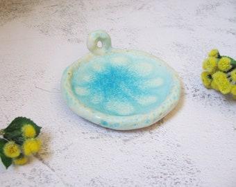 ceramic Jewelry dish by echo of nature, Yumiko Goto