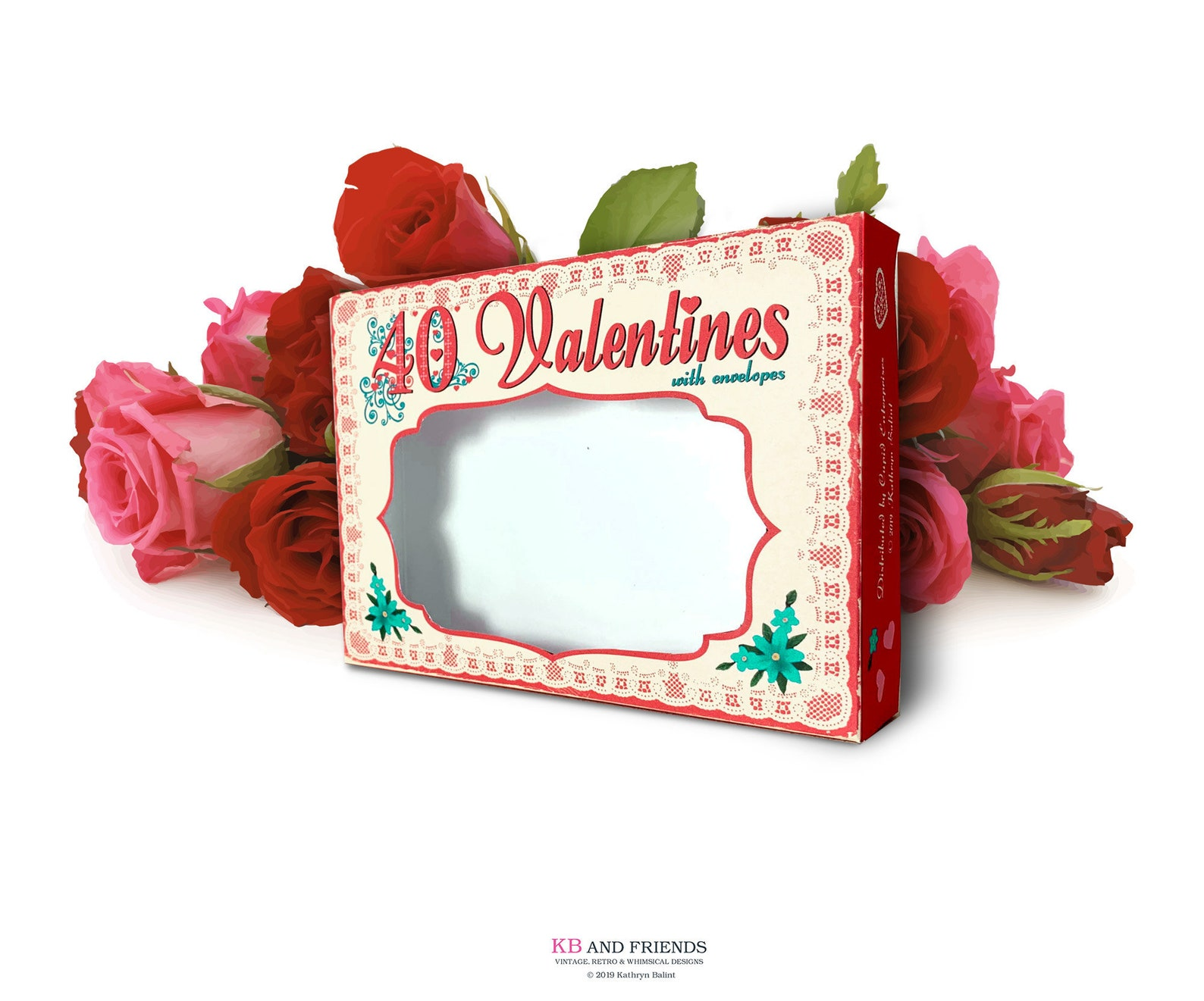 KB and Friends' Retro Valentines Box