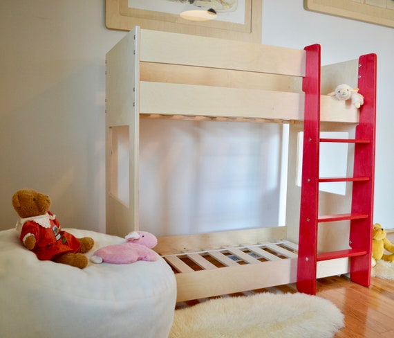 Junior Bunk Bed For Crib Toddler Size Mattresses Etsy