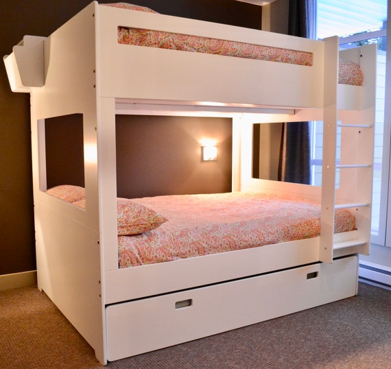 Full Size Bunk Bed Separates Into 2 Stand Alone Full Size Etsy