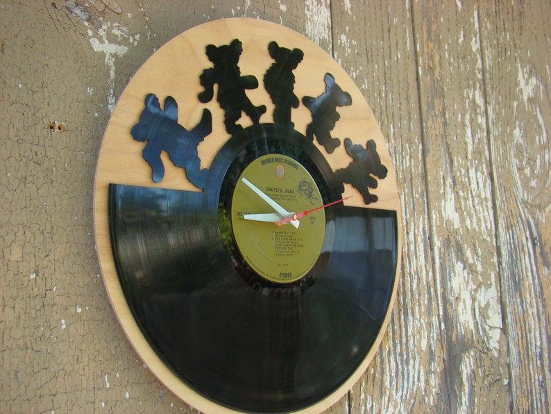 Re-purposed recycled Vinyl Record   GRATEFUL DEAD   vinyl image 0