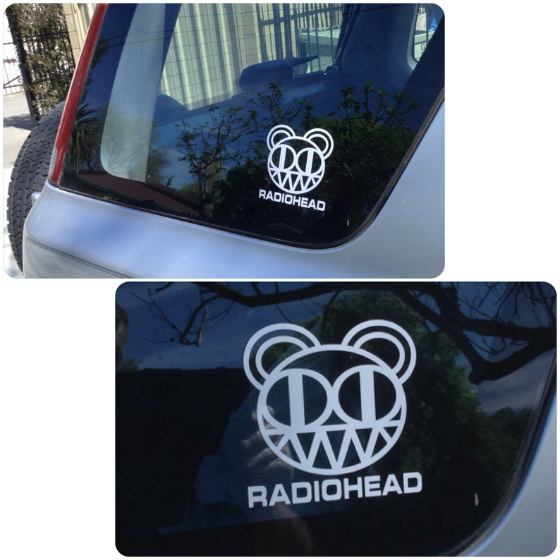 Radiohead Vinyl decal image 0