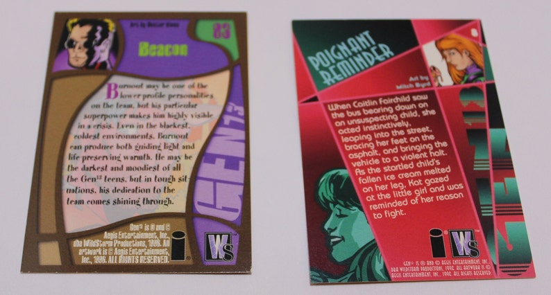 1996-31 Trading Cards from the Set GEN13 Free Shipping Wildstorm Productions