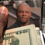 Terry Crews Photo Card for Wallet - Don't Waste Money - Save Money the Terry Crews way!