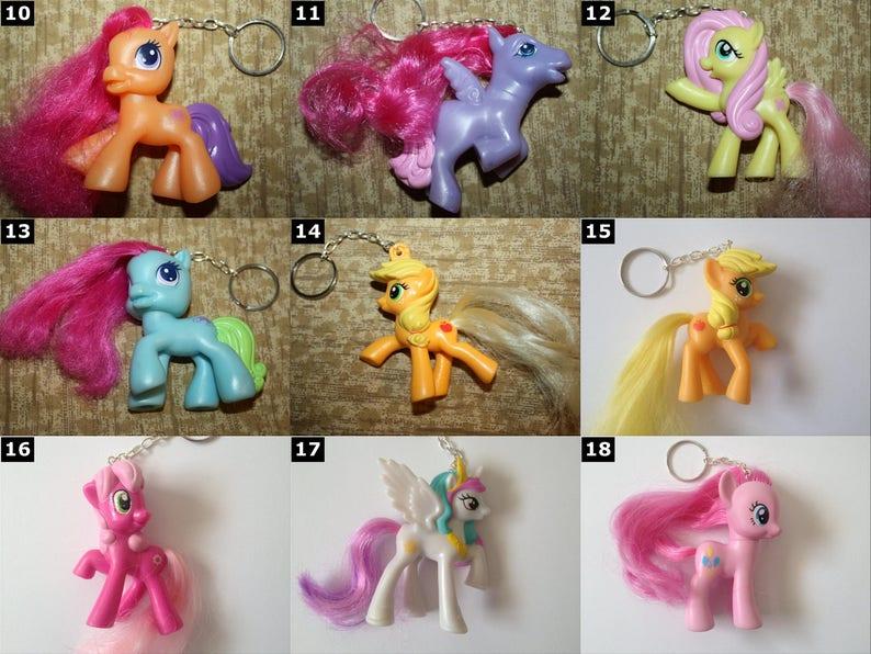 ea776f6fd My Little Pony Hasbro Keychain SELECT ONE