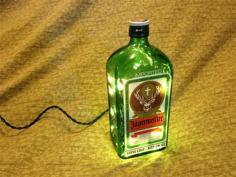 Alcohol Bottle Lamps  Christmas Xmas Gift Christmas Present image 0